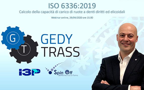 """DISPONIBILE IL WEBINAR GRATUITO """"ISO 6336 – 2019"""""""